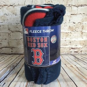 Boston Red Sox Fleece Throw Blanket